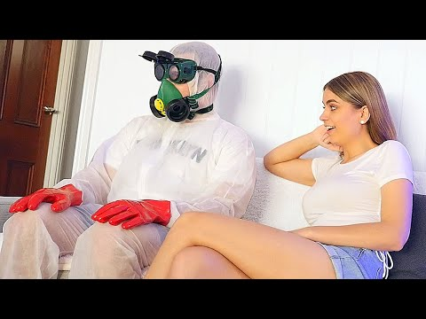DATING my Girlfriend in Quarantine!