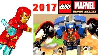 LEGO Super Heroes 76077 Железный человек: Стальной Детройт наносит удар. Новинка LEGO Marvel 2017