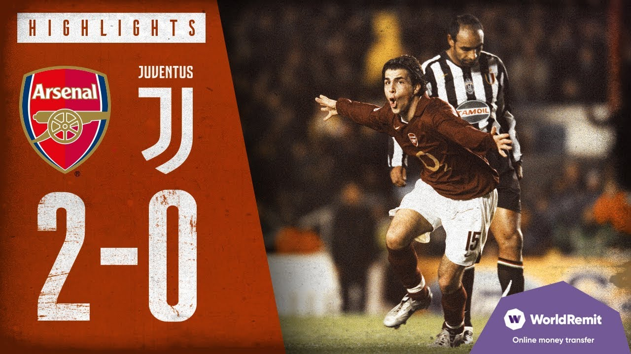 Fabregas & Henry fire us to victory | Arsenal 2-0 Juventus | Highlights | March 28, 2006