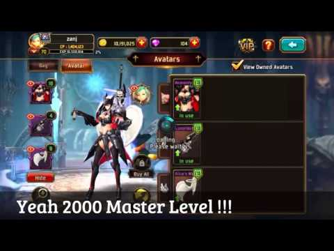 Kritika The White Knights | Android | Eclair | 2,000 Master Level  & Upgraded Weapon