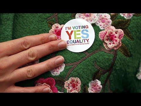Ireland votes in same-sex marriage referendum