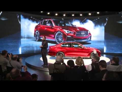 Infiniti Debuts Daring Formula One Inspired Q50 Eau Rouge Concept in Detroit