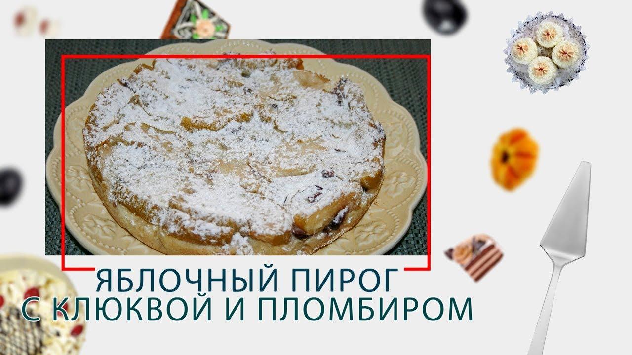 Яблочный пирог с клюквой и пломбиром в ARC–514D