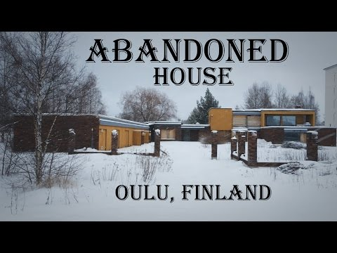 Abandoned house in Oulu, Finland