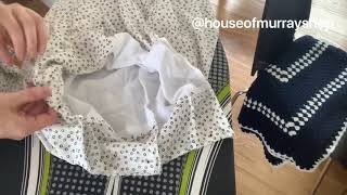 How I made this summer skirt _ House of Murray Shop