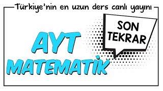 YKS - AYT Matematik Son Tekrar   Kamp2018