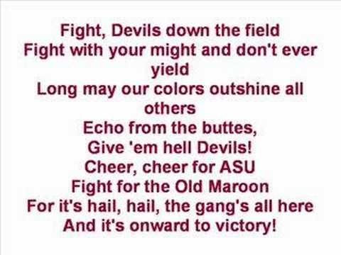 Arizona State University - Fight Song