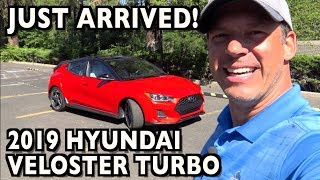 Just Arrived: 2019 Hyundai Veloster Turbo