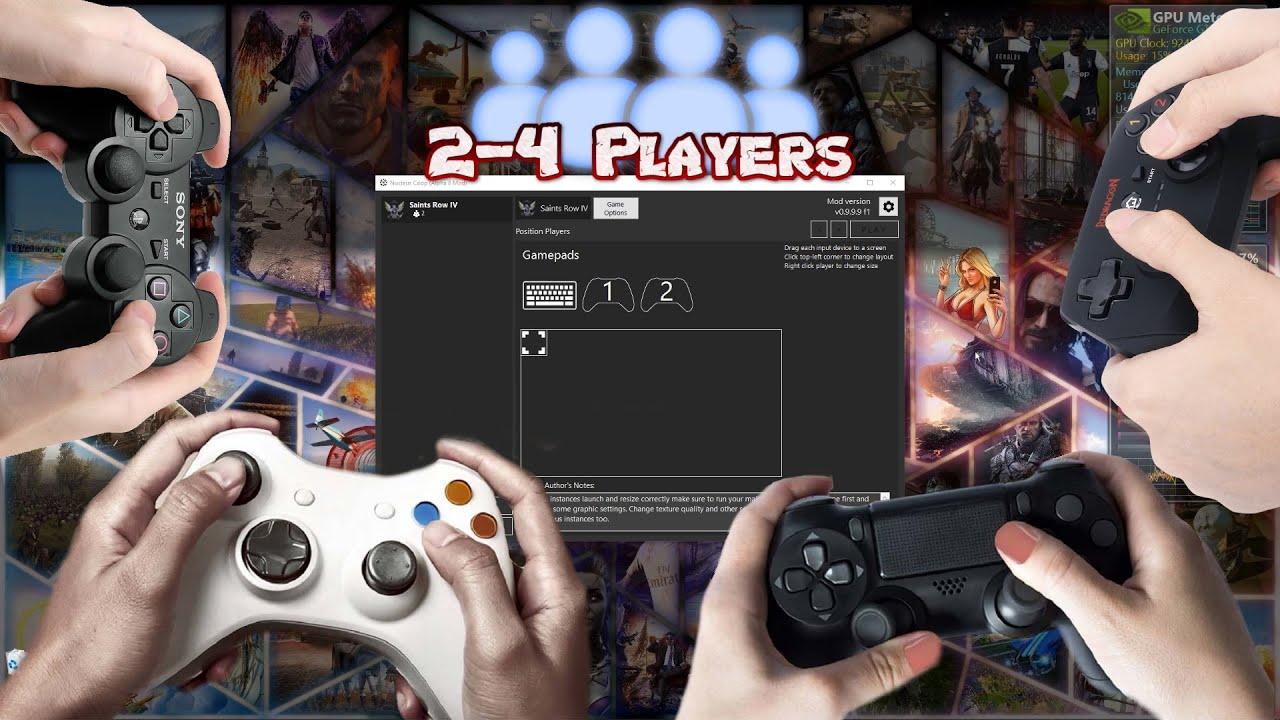 Nucleus COOP - Инструкция как играть во множество игр на ПК в режиме split screen (Разделенный экран)