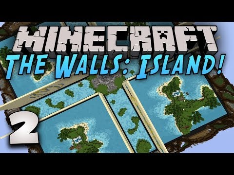 The Walls: Island [Hypixel Server] - Part 2 - Team Work!