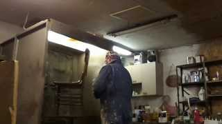 Skip's Custom Refinishing ... Stripping And Refinishing 4 Oak Chairs Part 4