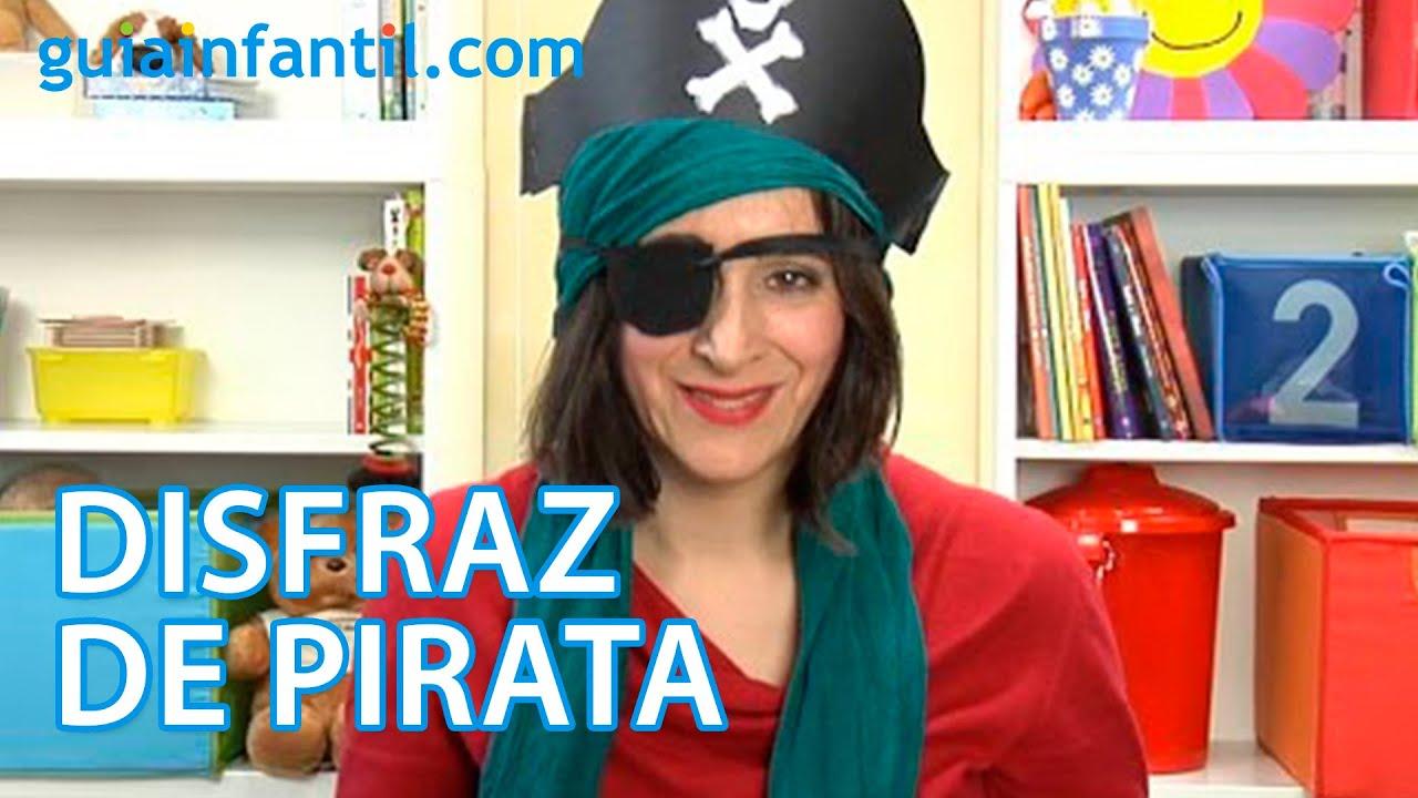 cmo hacer un disfraz de pirata para nios manualidad de carnaval youtube