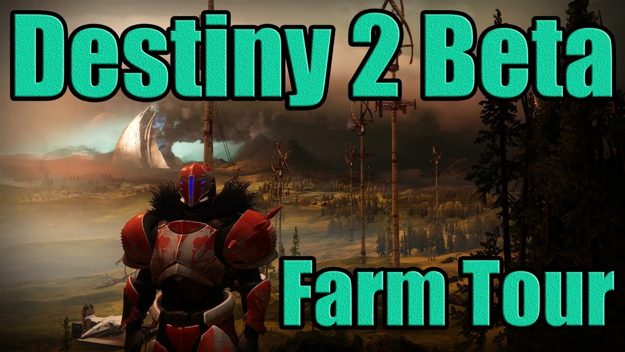 Destiny 2 Beta Farm Every Inch Tour ! Multiple Towns ? New Fractions ? Hidden Area !