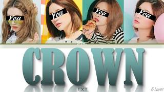 Download [YOUR GIRL GROUP] CROWN - TXT {Girl Cover} [4 members version] ▷ K-Lover Mp3