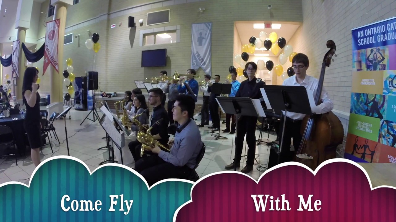 Come Fly With Me St Aloysius Gonzaga S S 2016 17 Jazz