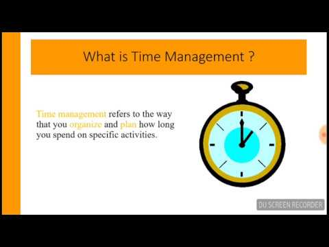 Time Management || Benefits & Obstacles of Time Management || Lecture In Urdu/Hindi