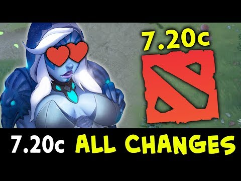 7.20c Dota Update — ALL CHANGES, new CANCER is born