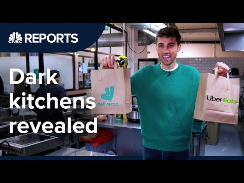 Dark kitchens: Where does your food delivery really come from? | CNBC Reports