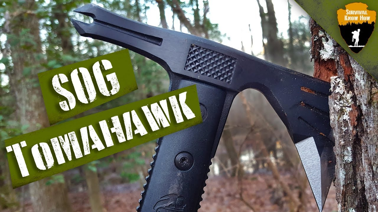 Can a SOG Tactical Tomahawk REPLACE Your Survival Knife?