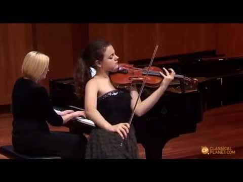 "Inés Issel plays ""Carmen"" Fantasy by F.Waxman"