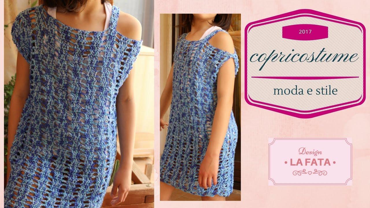 Tutorial Copricostume Uncinetto Abito Mare Summer Dress Crochet