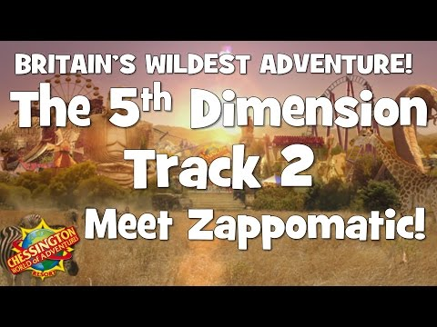 Chessington WoA - The 5th Dimension Track 2 (Meet Zappomatic!)