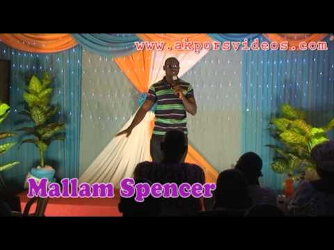 MALLAM SPENCER in Laugh Out Loud  Comedy Series 21