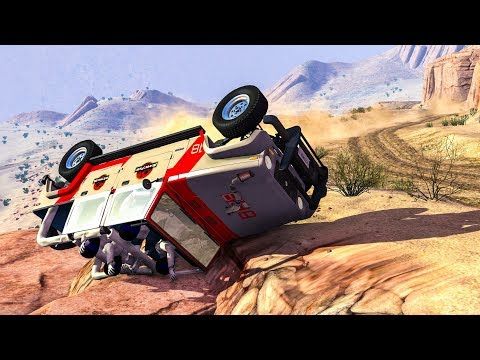 OFFROAD CRASHES #5 - BeamNG Drive Crashes (Off Road Car Crashes) |