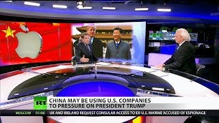 Apple sides with China against Trump