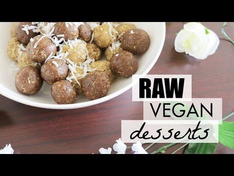 Raw Desserts Recipes! (healthy + vegan + easy)   LynSire