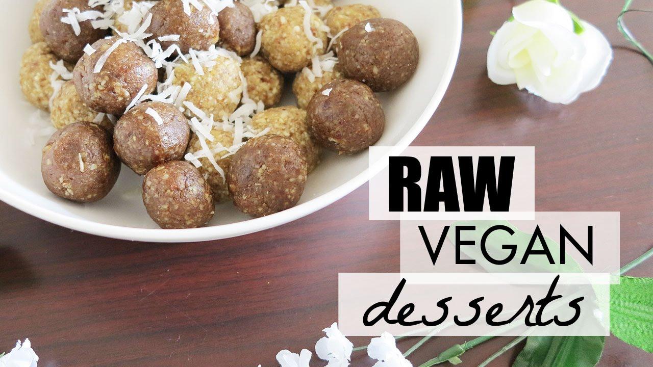 Raw desserts recipes healthy vegan easy lynsire youtube forumfinder Gallery