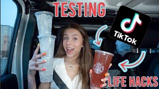 I Tested VIRAL TikTok Life Hacks (to see if they actually work)