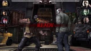 Mortal Kombat X Mobile: Update 1.8 Kobu Justu Tanya/Dark Emperor Liu Kang/Kold War Scorpion Gameplay