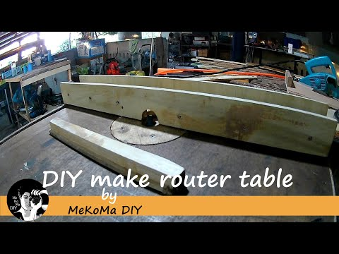 How to DIY make router table DIY Mini projects router table | woodworking How-To.