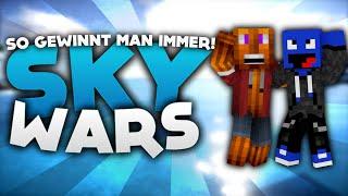 So gewinnt man immer! - Minecraft Sky Wars! | DieBuddiesZocken