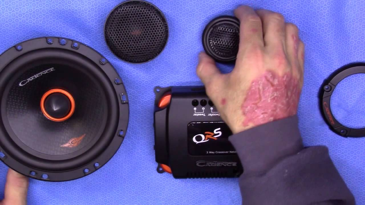 Cadence QR57K 5x7 Component Speaker System 150W