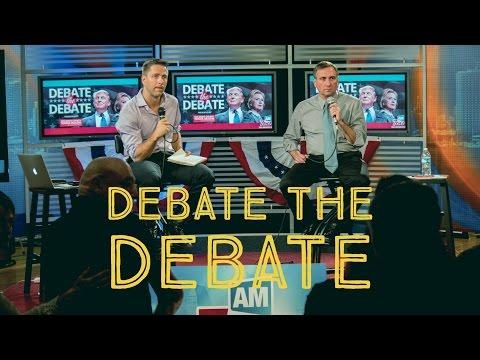 Debate the Debate Round One
