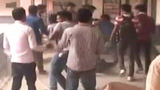 TMC-Cong student leaders clash inside Raiganj University, West Bengal
