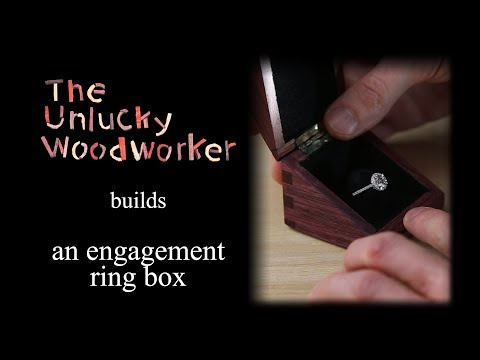 Building an Engagement Ring Box