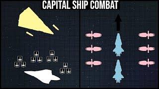 The Basics of CAPITAL SHIP COMBAT Explained | Star Wars Battle Breakdown