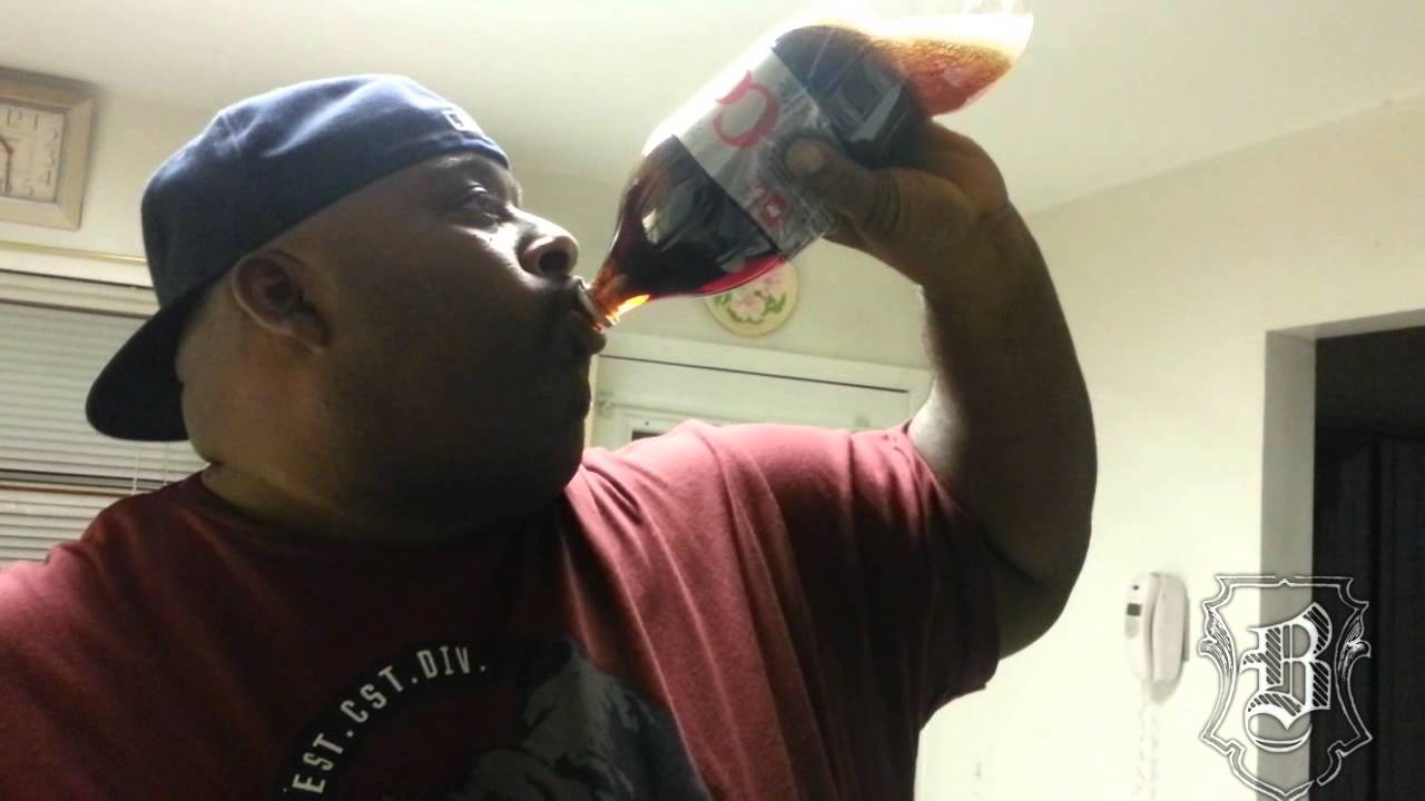 Fat Alcohol Challenge Boy