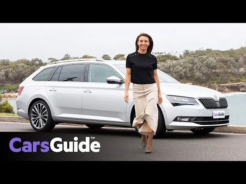 Skoda Superb Wagon 162TSI 2018 review