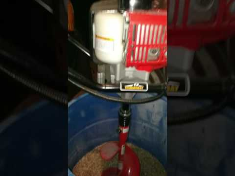 How to mix chicken feed!