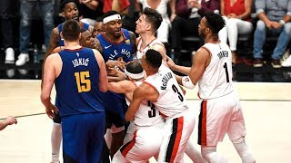 BEST NBA 2018-19 FIGHTS & ALTERCATIONS! | REGULAR SEASON AND PLAYOFFS!