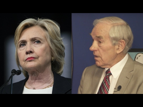 Ron Paul: Hillary Clinton Could've Run As A Republican!