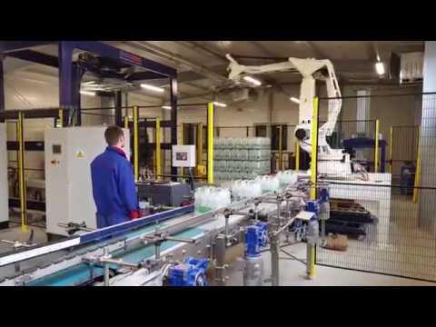 STM Robotic Palletizing System.