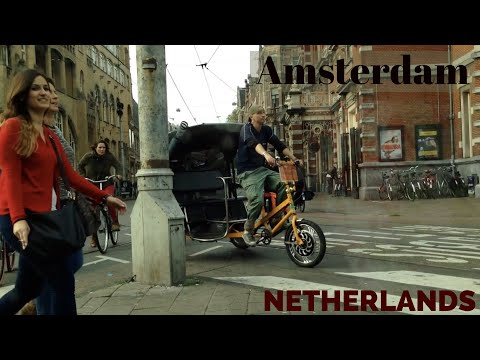 Amsterdam, Netherlands, on the road with Lata Mangehskar on the taxi radio