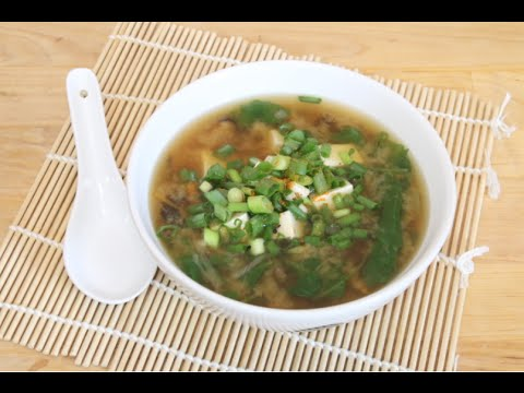 how to make miso soup youtube