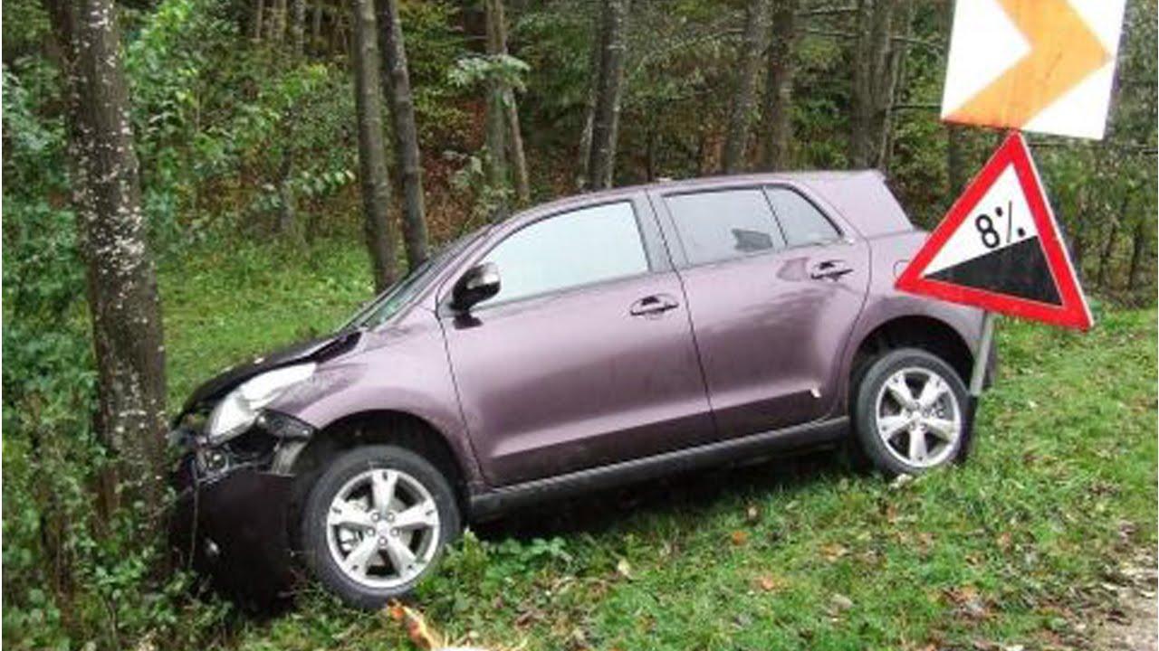 Latest Car Accident Of Toyota Urban Cruiser Road Crash