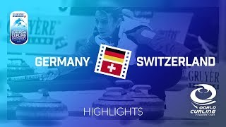 HIGHLIGHTS: Germany v Switzerland - Women